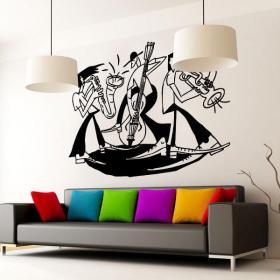 Vinilos Decorativos Picasso Jazz