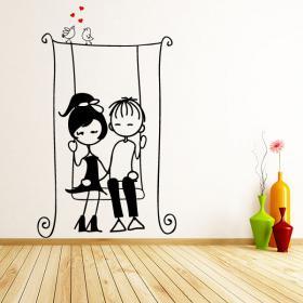 Vinilos Decorativos Infantiles Enamorados
