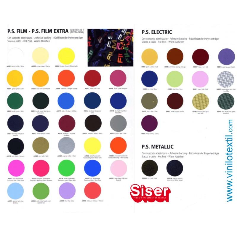 carta de colores siser