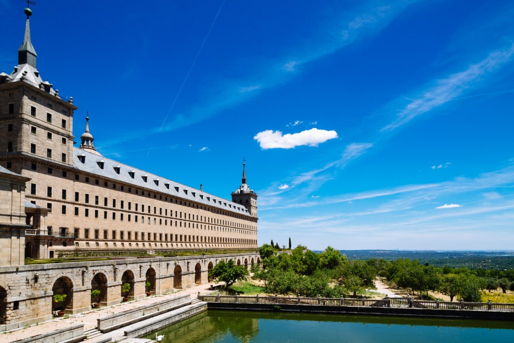 Escorial Monastery, Spain, Travel Photography, Vin Images