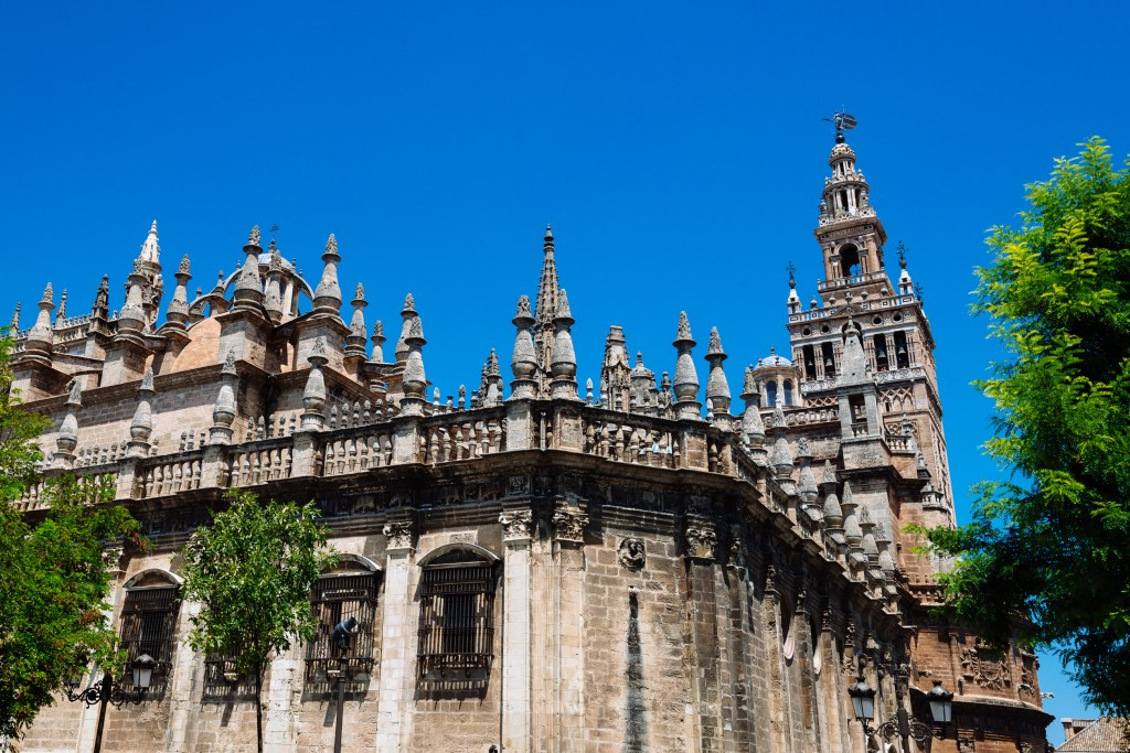 Seville Cathedral, Spain, Travel Photography, Vin Images