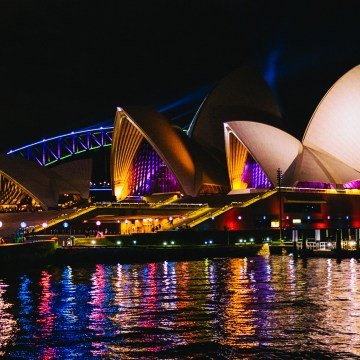 Sydney Harbour, Australia, Travel Photography, Vin Images