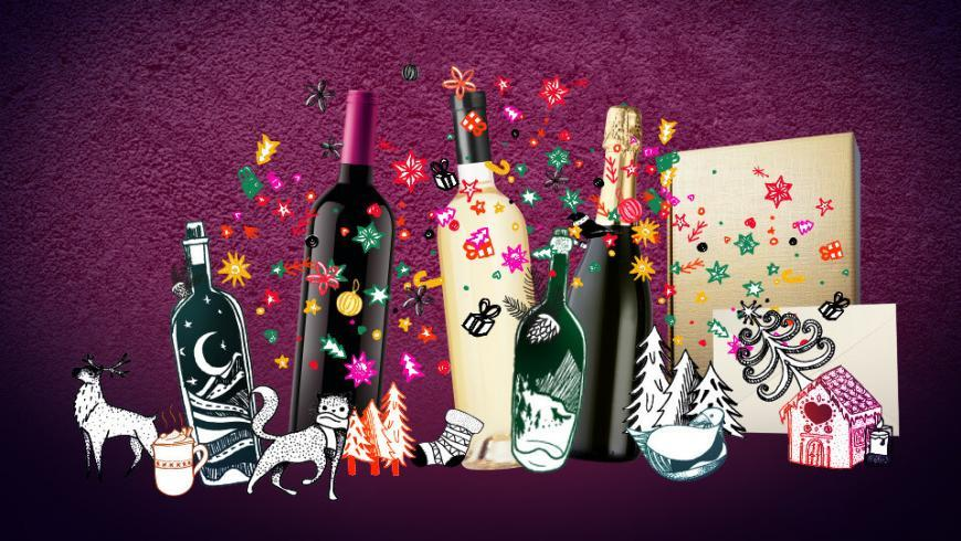 Gift Ideas for Christmas and New Year's Eve by Vini per tutti
