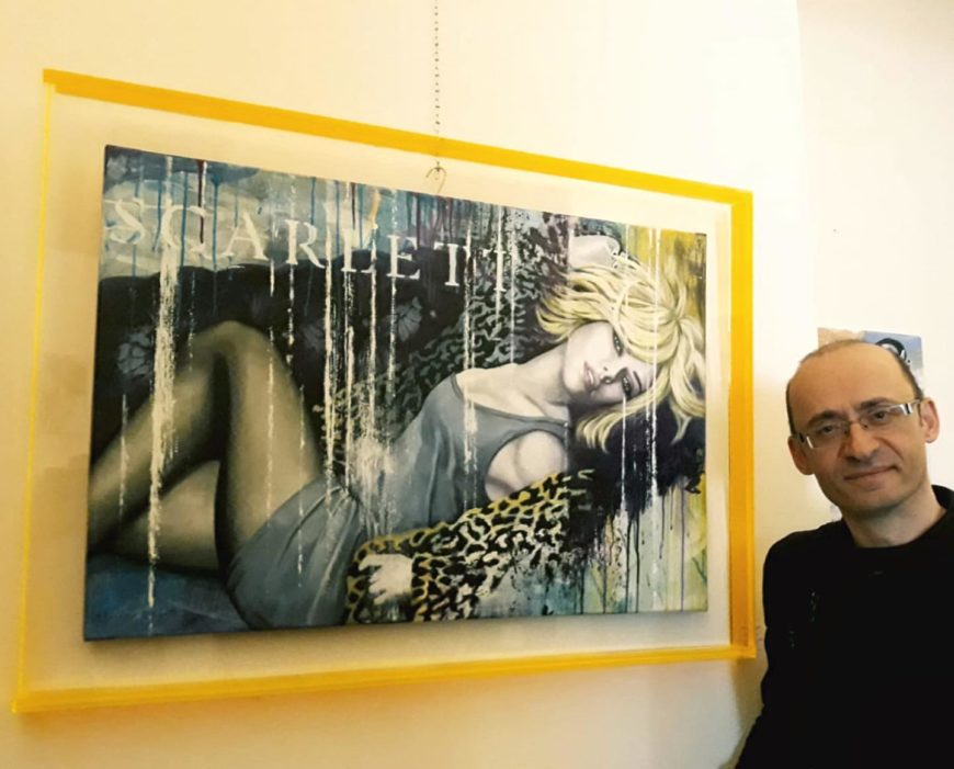 Harry Ergott Exhibition in Vini per tutti