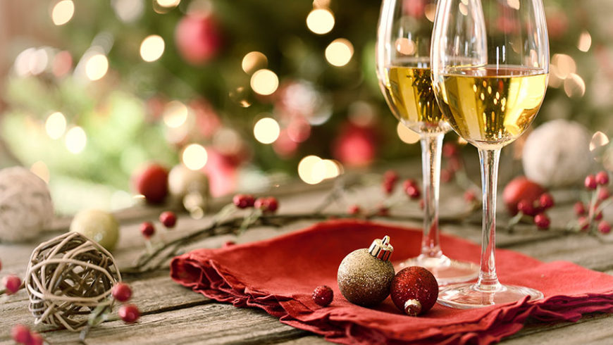 Inspiration for Christmas & New Year's Eve Wine Gifts