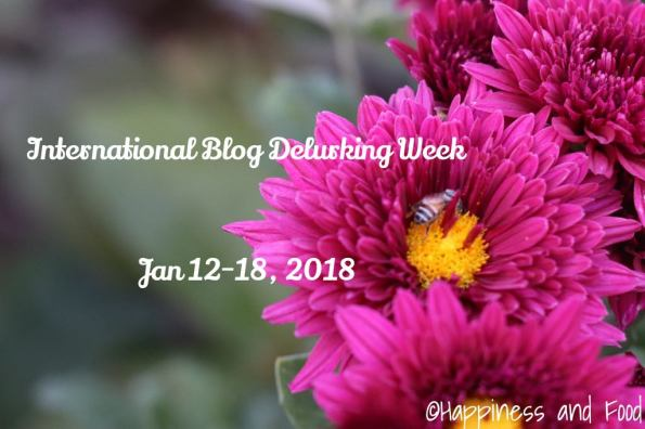 International Blog Delurking Week 2018