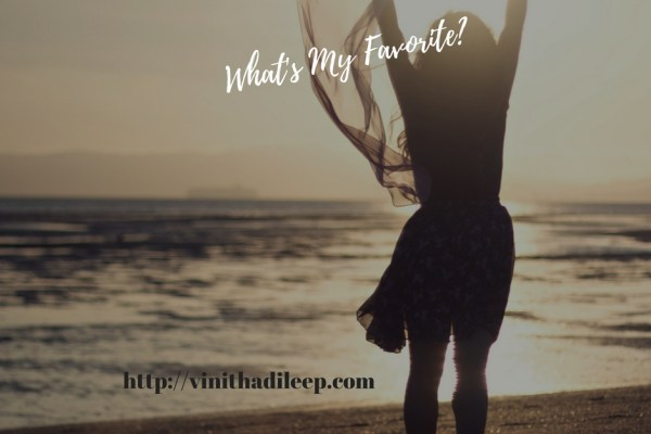 What's my favorite? #MondayMusings #mg