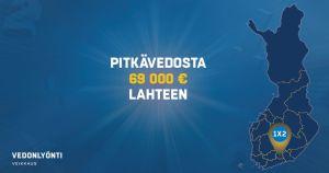 Suosikit voittivat NHL:ssä – Pitkävedosta voittoina 750 000 euroa