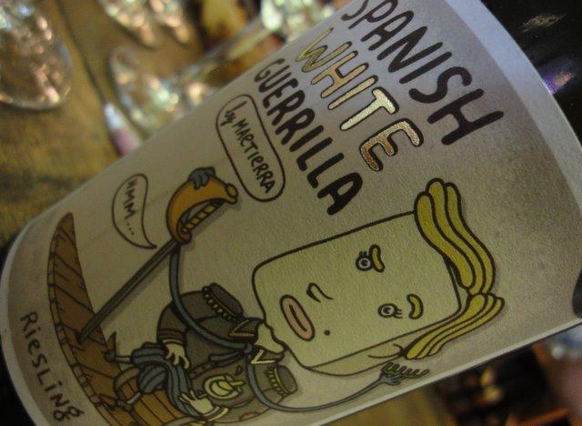 Spansk hvidvin