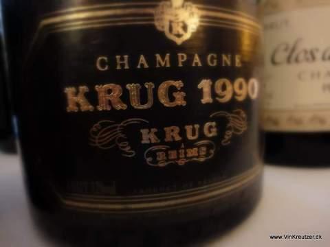 Krug Champagne til julemad