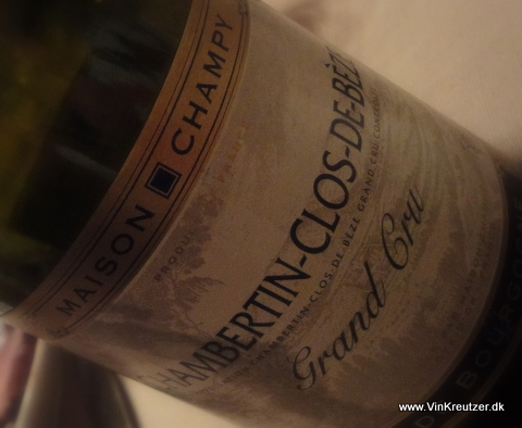 2001 Maison Champy, Chambertin, Clos de Beze, Grand Cru Bourgogne