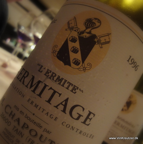 1996 M. Chapoutier, L'Ermite, 'Ermitage, Rhone