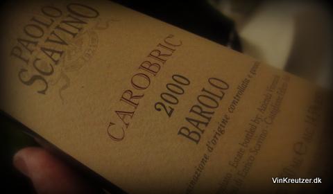 2000 Paolo Scavino, Carobric, Barolo