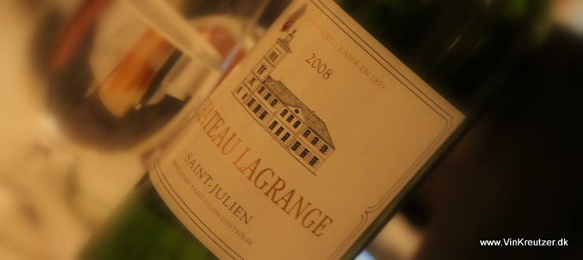 2008 Chateau Lagrange, Grand Cru Classé, Saint Julien