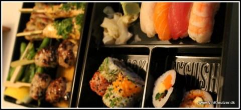 sushi og sticks