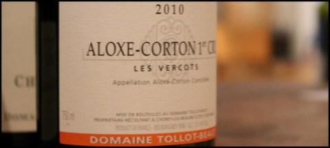 2010 Tollot-Beaut, Les Vercots 1'er Cru, Aloxe Corton