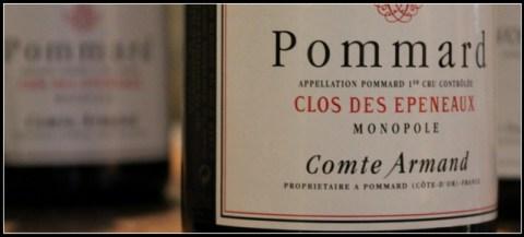 2010 Comte Armand, Clos des Epeneaux, Monopole, 1'er Cru, Pommard