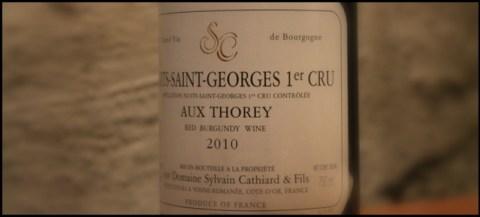 2010 Sylvain Cathiard & Fils. Aux Thorey, 1'er Cru, Nuits-Saint-Georges