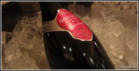 Gosset, Grande Reserve Brut, Champagne