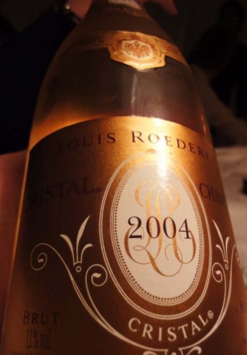 2004 Cristal, Louis Roederer