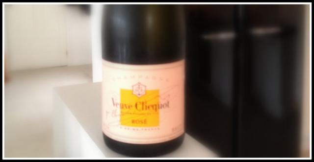Champagne Veuve clicquot rose