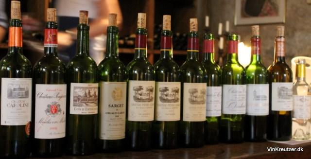 Rød Bordeaux vin