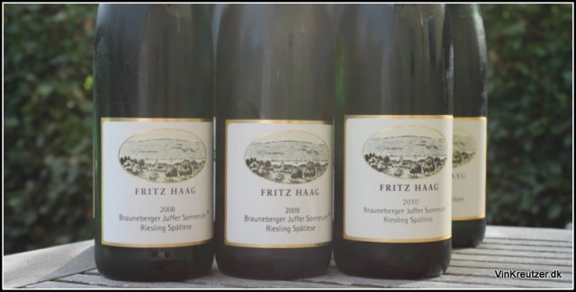 fritz haag riesling spatlese