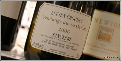 2006 Lucien Crochet, Vendange du 10 Octobre, Sancerre