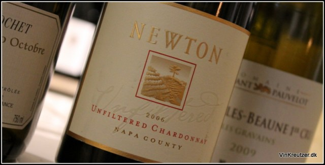 2006 Newton, Unfiltered Chardonnay, Napa County
