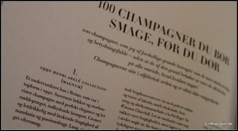 Champagne du skal smage