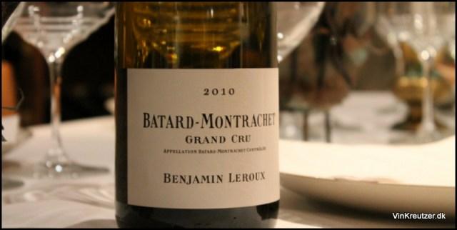 Montrachet Batard Leroux