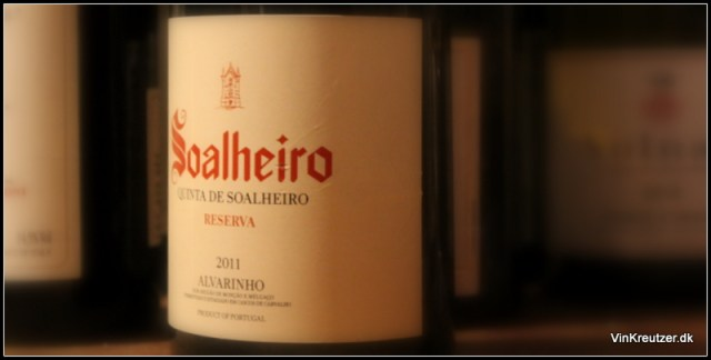 Soalheiro, Reserva, Alvarinho, Vinho Verde