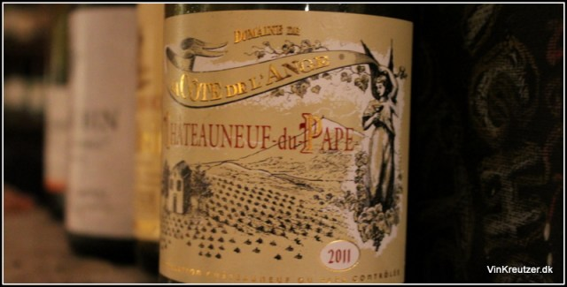 2011 Cote de l'Ange, Blanc, Chateauneuf-du-Pape