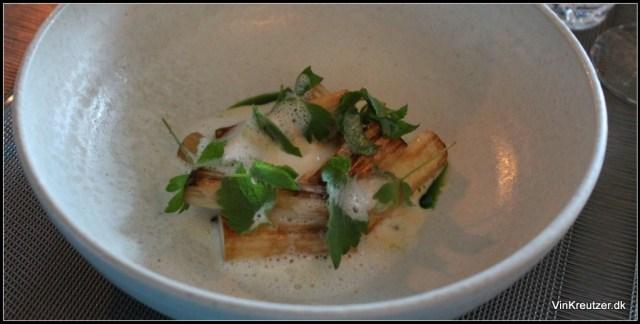 Grillede tyske asparges