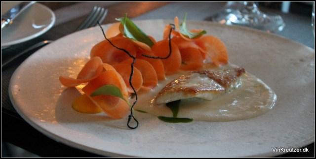 Pighvar med gulerod Yderst velsmagende