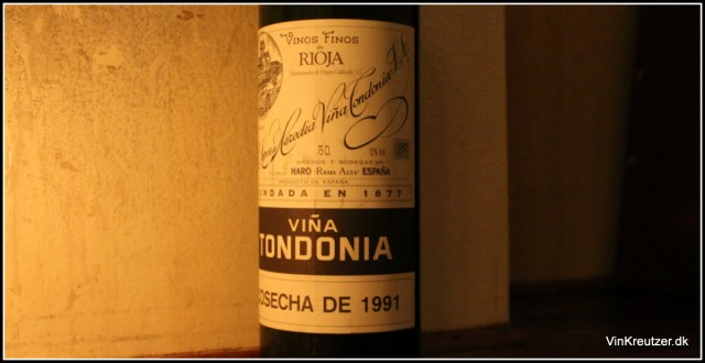 Rioja 1991 Tondonia