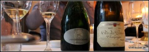Champagne på Le Sommelier