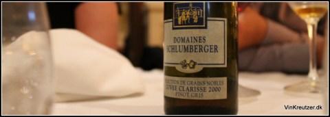 Sclumberger, Pinot Gris, Cuvée Clarisse