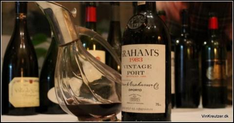 Vintage Graham's Portwine