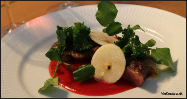 Voce foie gras og andebryst