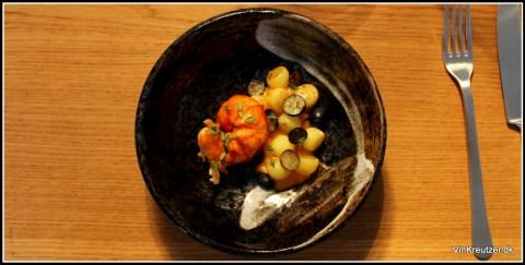 Voce hummer servering