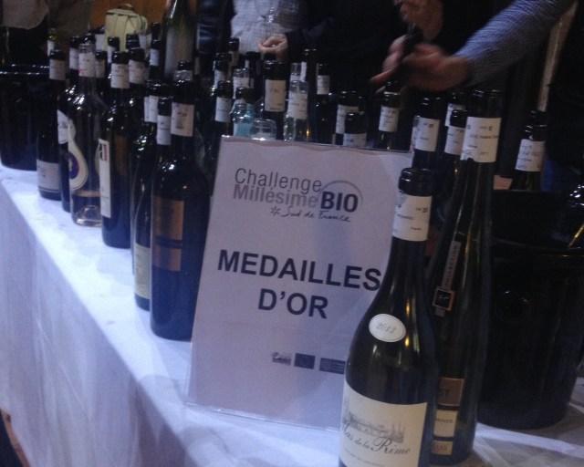 Guldbordet. Der var mange fremragende vine på dette bord