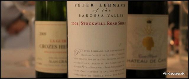 Stockwell Road Shiraz Lehmann