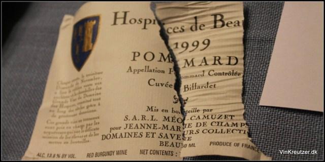 Pommard Hospices de Beaune