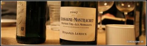 2007 Benjamin Leroux, Les Morgeots, 1'er Cru, Chassagne-Montrachet