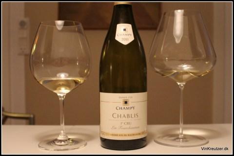 Champy Chablis Zalto Riedel