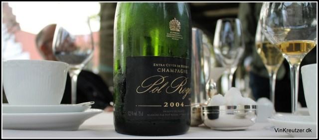 2004 Pol Roger Champagne