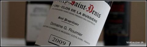 Morey Saint Denis Roumier