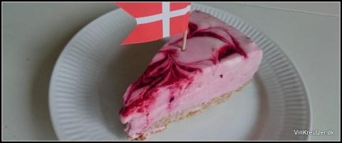 Hindbær cheese cake