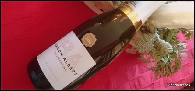 Champagne Millesime, Baron Albert